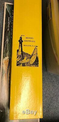 Vintage Modèle Shipways Rattlesnake Modèle Bateau Navire 1781 En Bois Kit Nouveau Nib