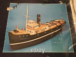 Vintage Rare Muimota 1958 Échelle 125 Wood Model Ship Kit Fabriqué En Italie Nos