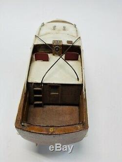 Vintage Sterling 42' Chris Craft Modèle Bateau 19 Rare Bois