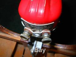 Vintage Toy Bateau Modèle Bois Toy Moteur Electrique Japon Ancien Tôt