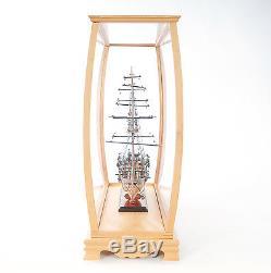 Vitrine En Bois Et Plexiglas 36 Pour Voiliers, Yachts Et Bateaux