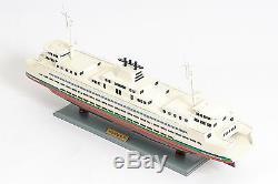 Washington Passagers Et Automobile Ferry Boat 25 Bois Modèle Navire Assemblé