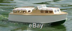 Wavemaster 34 Boat Model Kit De Bateau En Bois Lesro Modèles Les Rowell