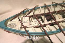 White Star Line Titanic Life Boat # 14 Modèle Bois Affichage Nautique 100% Complet