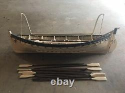 White Star Line Titanic Life Boat #14 Wood Model Nautical Display 100% Complet