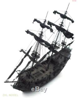 Wood Zhl La Version Black Pearl Pirates Version Bateau Kits De Bateau Modèle Jouet En Bois