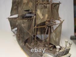 Wooden Black Pearl Bateau Modèle De Kit De Bateau Diy Bois Caraïbes Pirates Nouvel Ensemble De Luxe