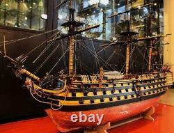 Wooden Ship Model Kit Échelle 1/72 1805 Bateau Modèle Bateau Fait Main